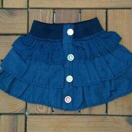 Юбки - Юбка летняя джинса  , 0