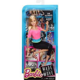 Куклы и пупсы - Кукла Барби Безграничные движения, 0