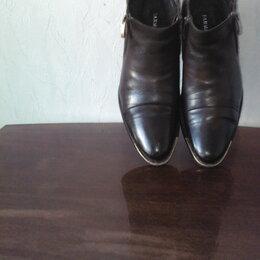 Ботинки - Полуботинки  импортные  кожаные  на  меху., 0