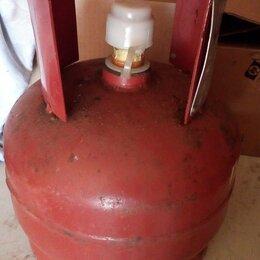 Газовые баллоны - газовый пропановый баллон бытовой 5 л., 0