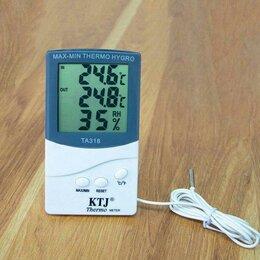 Метеостанции, термометры, барометры - Метеостанция KTJ TA318 с выносным датчиком, 0