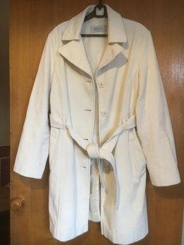 Пальто - Пальто женское с поясом, 0