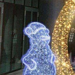 """Ёлочные украшения - Световая фигура """"Снеговик Twinkle"""", 0"""