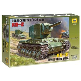 Сборные модели - Сборная модель Звезда Танк тяжелый советский КВ-2 , 0