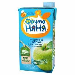 Продукты - Сок детский Фруто няня яблоко 500 г, 0