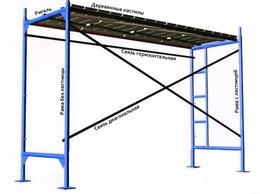 Лестницы и стремянки - Леса рамные строительные, 0