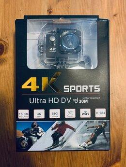 Видеокамеры - экшн камера 4К с WiFi , 0