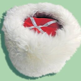 Головные уборы - Папаха белая , 0