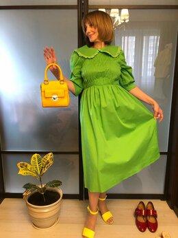 Платья - Платье новое, 100% хлопок , 0