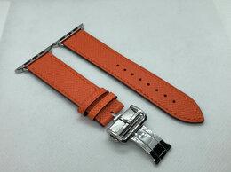Ремешки для умных часов - Ремешок для Apple Watch (Hermes застежка бабочка), 0
