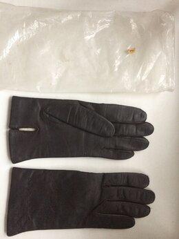 Перчатки и варежки - КОЖАНЫЕ ЖЕНСКИЕ ПЕРЧАТКИ НОВЫЕ РАЗМЕР L, 0