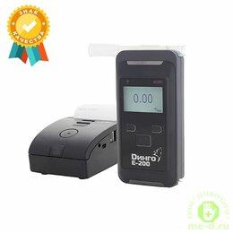 Приборы и аксессуары - Алкотестер Динго Е-200 с принтером, 0