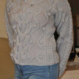 Жакеты - свитер вязаный, ручная работа, 0
