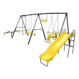 Игровые и спортивные комплексы и горки - Детский уличный комплекс DFC 76509, 0