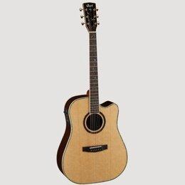 Клавиатуры - Cort MR1200FX NAT электроакустическая гитара с вырезом, цвет натуральный лак, 0