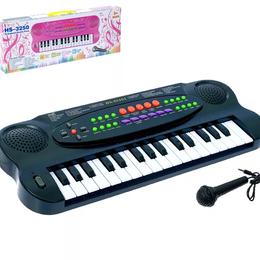 Музыкальные CD и аудиокассеты - Синтезатор Музыкальная игра с микрофоном, 0