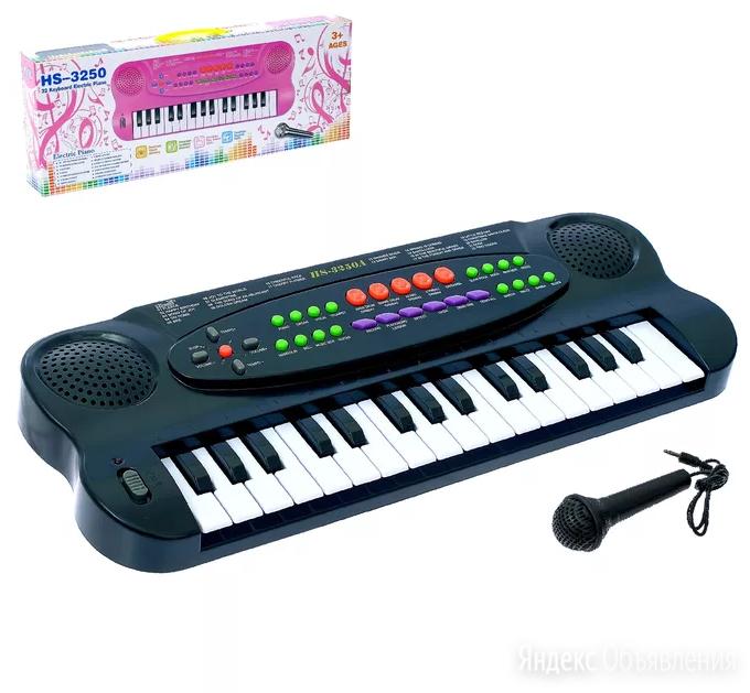 Синтезатор Музыкальная игра с микрофоном по цене 890₽ - Игровые приставки, фото 0