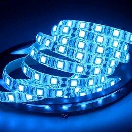 Светодиодные ленты - Светодиодная лента Ice Blue влагозащищённая, 12V, SMD5050, IP65, 60 Д/М, 0