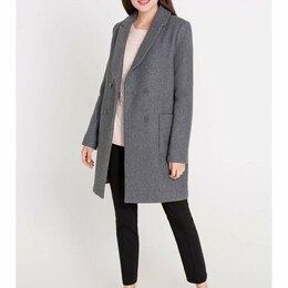 Пальто - Серое пальто с шерстью, 0