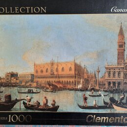 Пазлы - Игрушка пазл Clementoni Италия 1000шт. 67,7 х 47,7см, 0