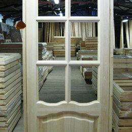 Межкомнатные двери - Дверное полотно (филенка+стекло), 0
