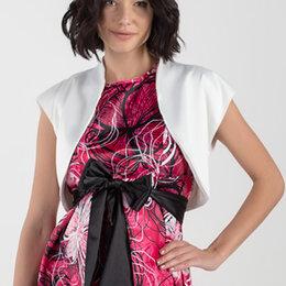 Рубашки и блузы - Болеро атласное, 0