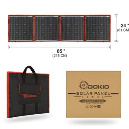 Солнечные батареи - Солнечная панель Dokio 160W складная, 0