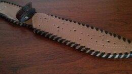 Ножи и мультитулы - Новый кожаный чехол для ножа, 0