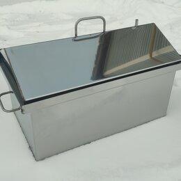 Грили, мангалы, коптильни - Коптильня горячего копчения с крышкой-домиком оптом и в розницу от производителя, 0
