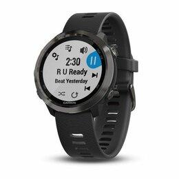 Наручные часы - Часы Garmin (Гармин) FORERUNNER® 645 Music серый с черным ремешком, 0