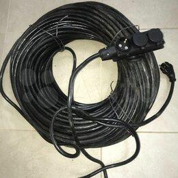 Кабели и провода - Кабель ПВС 4х2,5 ГОСТ новый, 120м, 0