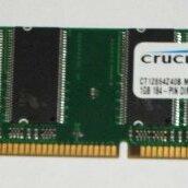 Прочие комплектующие - Продам оперативную память компьютера DDR DIMM 1 Gb 400 МГц Crucial, 0