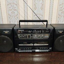 Музыкальные центры,  магнитофоны, магнитолы - Магнитофон   Panasonic , 0