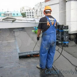 Изоляционные материалы - Бикрост ТПП стеклоткань 15м2/рул, 0