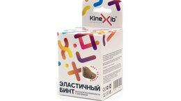 Аксессуары и комплектующие - Эластичный бинт KINEXIB (бежевый) (бежевый), 0