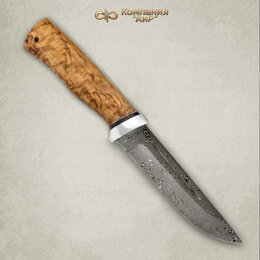 Аксессуары и комплектующие - Нож Бекас Златоуст из дамасской стали ZD-0803…, 0