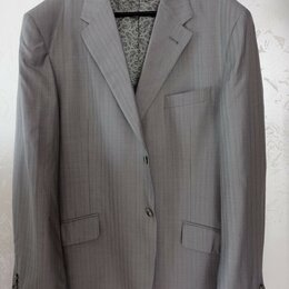 Пиджаки - Пиджак светлый 58 размера Otto Berg GOLD, 0