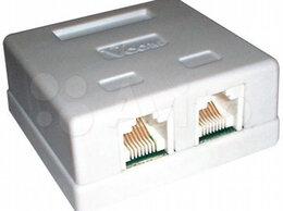 Кабели и разъемы - переходник разветвитель для LAN RJ45 - RJ45 , 0