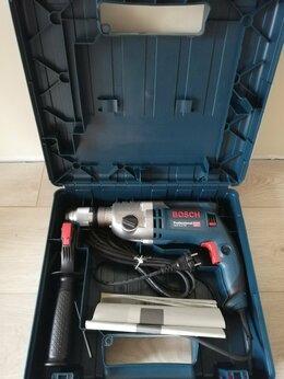 Дрели и строительные миксеры - Дрель ударная BOSCH GSB 21-2 RE Professional, 0
