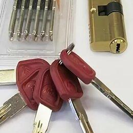 Замки - Цилиндр с перекодировкой! (65×35)и(55×35) Ключей 5+1+5, 0