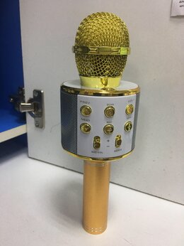 Микрофоны - Bluetooth караоке микрофон колонка, 0