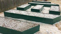 Заборчики, сетки и бордюрные ленты - 40 см Грядка оцинкованная с полимерным покрытием…, 0