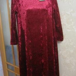 Платья - Платье бархатное. Новое., 0
