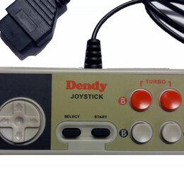 Аксессуары - Dendy Controller STEEPLER (квадратные) 15р широкий разъем, 0
