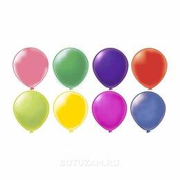 """Украшения и бутафория - Воздушный шарик 12""""/30см Пастель Ассорти 1 шт, цвет микс, 0"""