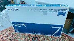 Телевизоры - 4K Samsung UE49NU7100U 124см,HDR,Smart,Wi-Fi, 0