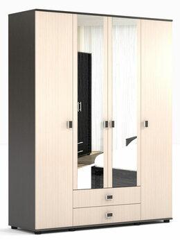 Шкафы, стенки, гарнитуры - Шкаф Оскар для одежды и белья с зеркалом, 0