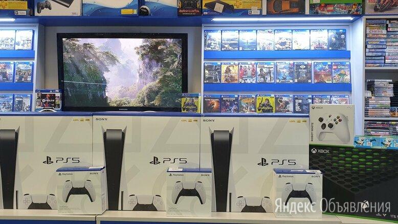 Игровая Приставка Playstation 5 в парке игр по цене 68000₽ - Игровые приставки, фото 0