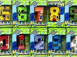 Игровые наборы и фигурки - Цифры трансформеры Герои из кубиков, 0