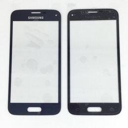 Дисплеи и тачскрины - Стекло дисплея для Samsung Galaxy S5 mini золотое, 0
